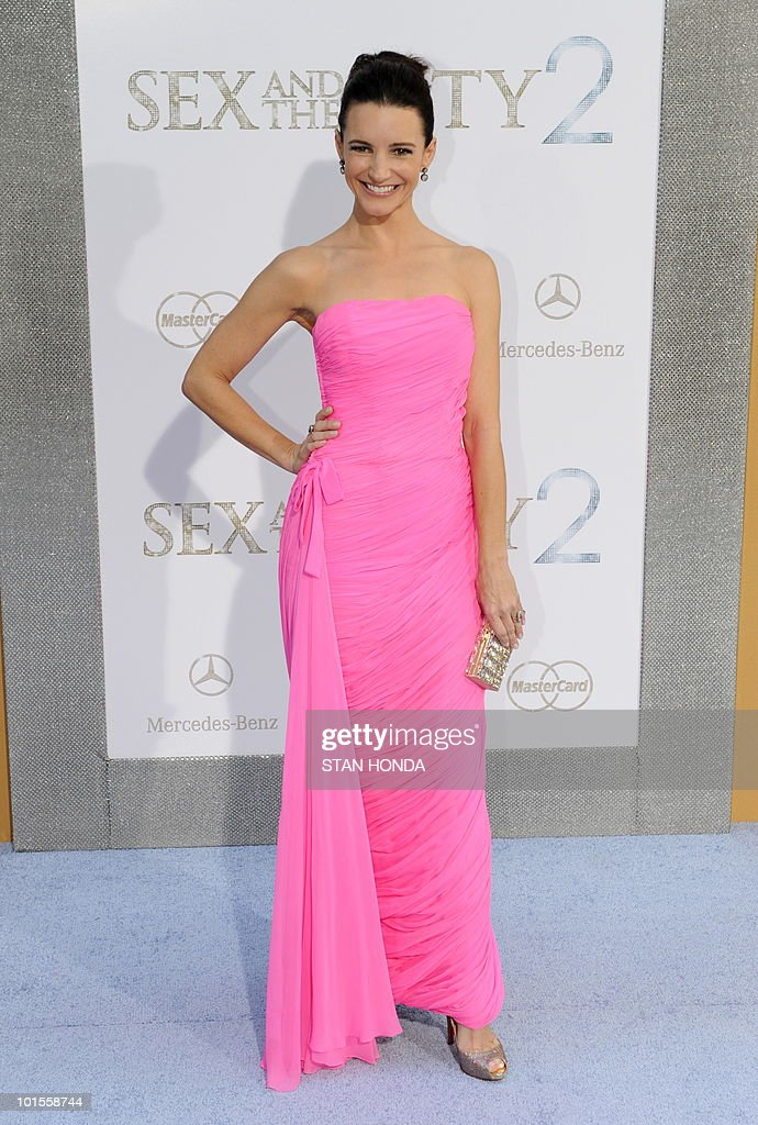 Kristin Davis arrives at the world premiere of the movie �Sex and the City 2� May 24, 2010 at Radio City Music Hall in New York. AFP PHOTO/Stan Honda