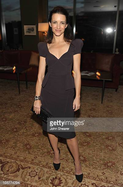 Kristin Davis attends Instyle's 'Dinner With A Desiger' for Brian Atwood at Soho House on June 2 2010 in West Hollywood California