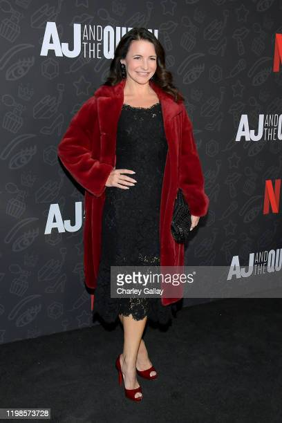 Kristin Davis attends Netflix's 'AJ and the Queen' Season One Premiere at the Egyptian Theatre on January 09 2020 in Hollywood California