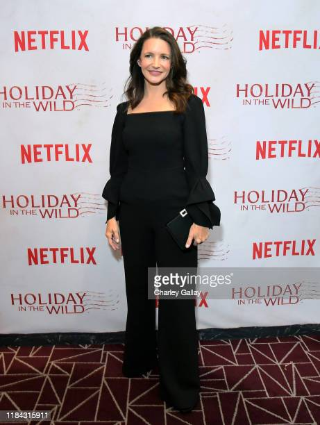 Kristin Davis attends Netflix's HOLIDAY IN THE WILD Cast Crew Screening at The London Hotel on October 29 2019 in West Hollywood California