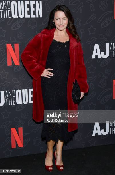 Kristin Davis attends Premiere of Netflix's AJ and the Queen Season 1 at the Egyptian Theatre on January 09 2020 in Hollywood California