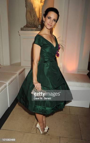 Kristin Davis attends the afterparty following the UK film premiere of 'Sex and the City 2' at The Kensington Palace on May 27 2010 in London England