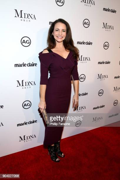 Kristin Davis attends the Marie Claire's Image Makers Awards 2018 on January 11 2018 in West Hollywood California