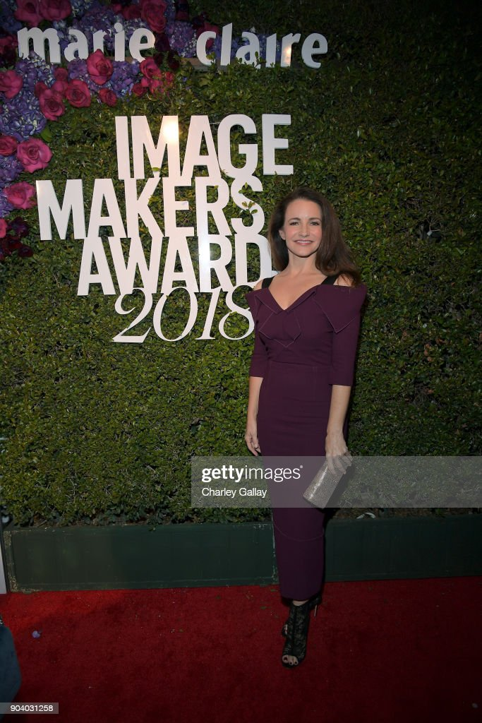 Kristin Davis attends the Marie Claire's Image Makers Awards 2018 on January 11, 2018 in West Hollywood, California.