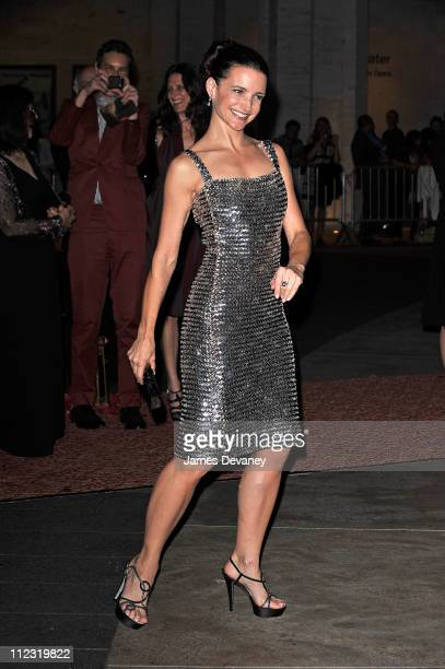 Kristin Davis attends the 'Sex and the City 2' premiere after party at Lincoln Center for the Performing Arts on May 24 2010 in New York City
