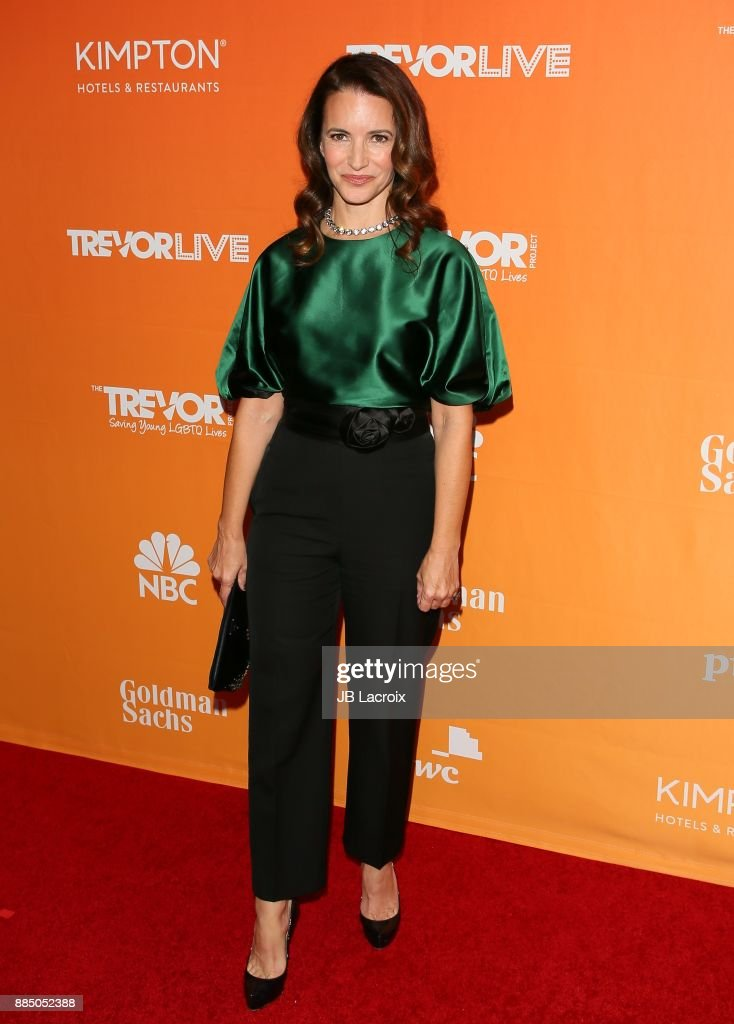 Kristin Davis attends The Trevor Project's 2017 TrevorLIVE LA on December 3, 2017 in Beverly Hills, California.