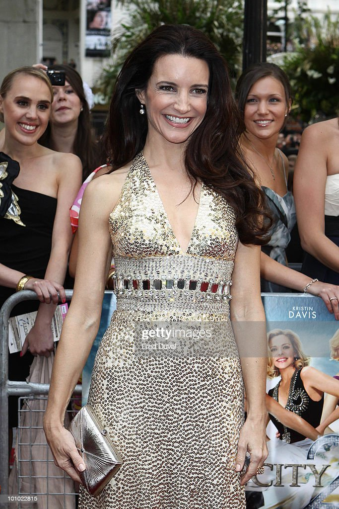 Kristin Davis attends the UK premiere of 'Sex and the City 2' at Odeon Leicester Square on May 27, 2010 in London, England.