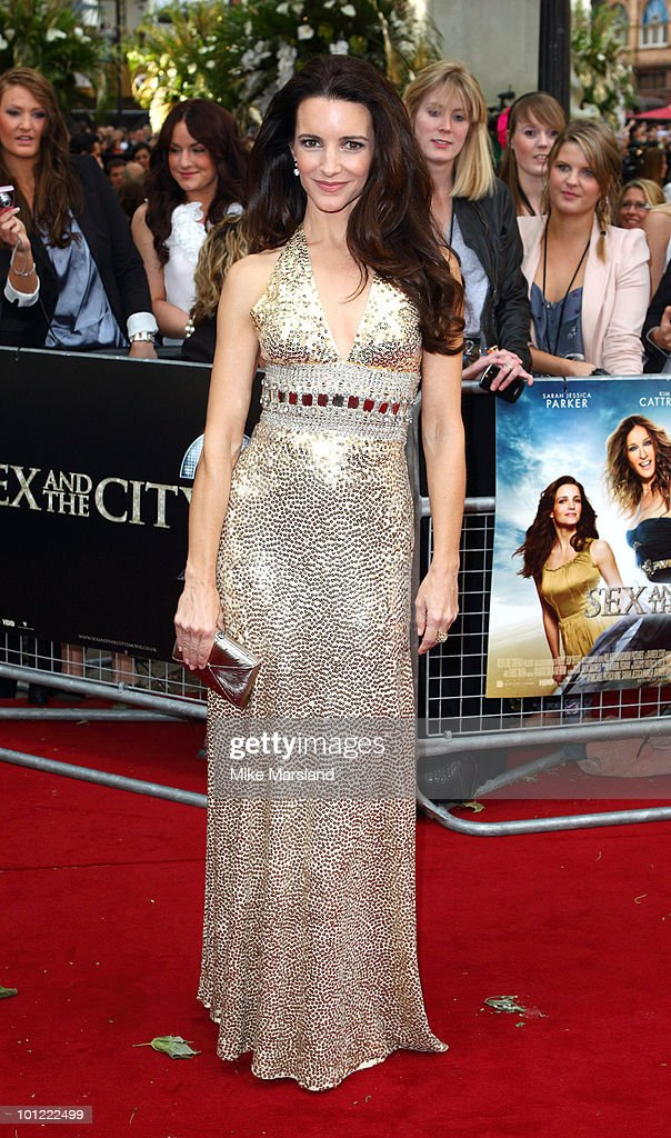 Kristin Davis attends the UK Premiere of Sex And The City 2 at the Odeon Leicester Square on on May 27, 2010 in London, England.