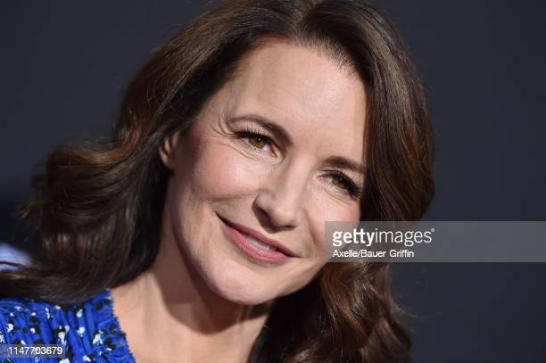Kristin Davis attends the US Premiere of Hulu's Catch22 at TCL Chinese Theatre on May 07 2019 in Hollywood California