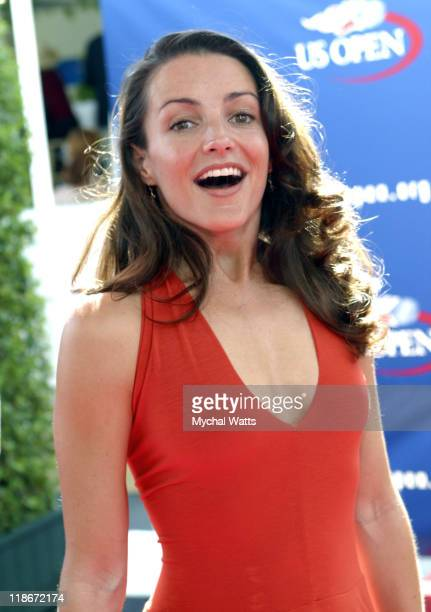 Kristin Davis during 2003 US Open - US Open Finals VIP Party Day 2 at USTA National Tennis Center in Flushing, New York, United States.