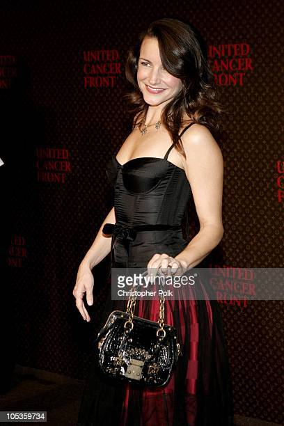 Kristin Davis during 2nd Annual Louis Vuitton United Cancer Front Gala Arrivals at Universal Studios in Universal City CA United States