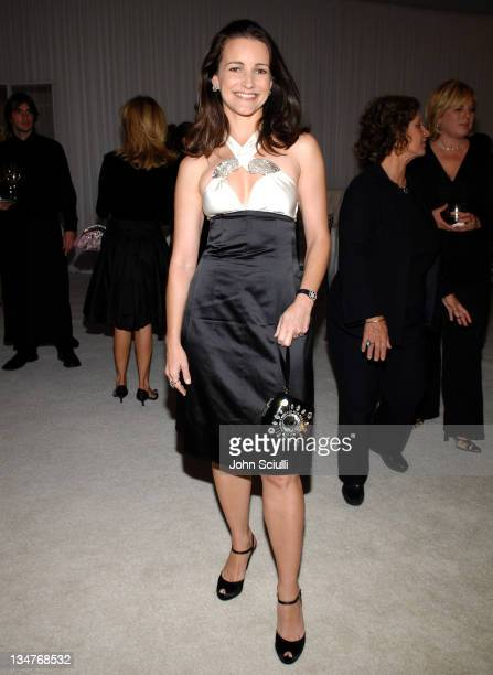 """Kristin Davis during Chanel Fine Jewelry Dinner to Celebrate """"Les Perles de Chanel"""" at Private Residence in Beverly Hills, California, United States."""
