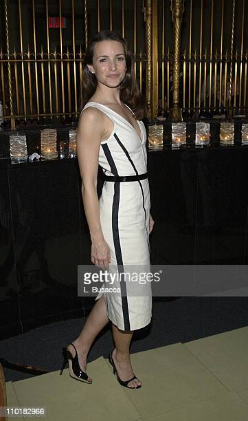 Kristin Davis during Conde Nast and Audi Host Never Follow Bash at Gotham Hall in New York City New York United States