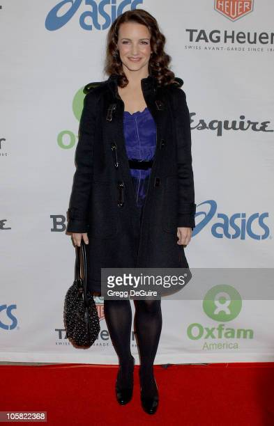 Kristin Davis during Esquire House 360 Hosts Annual Cocktail Party for Oxfam Arrivals at Esquire House 360 in Beverly Hills California United States