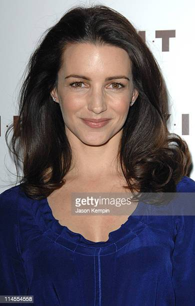 Kristin Davis during Launch Of The 2007 KIKIT Collection With Kristin Davis January 9 2007 at The Soho House The Library Room in New York City New...