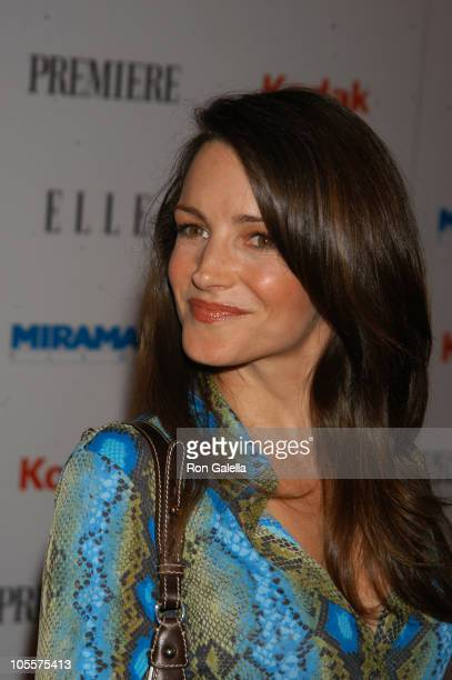 Kristin Davis during Miramax PreOscar Party and 25th Anniversary Celebration Arrivals at Pacific Design Center in West Hollywood California United...