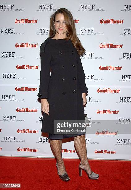Kristin Davis during Opening of the 41st New York Film Festival Sponsored by Grand Marnier Mystic River Premiere at Avery Fisher Hall Lincoln Center...