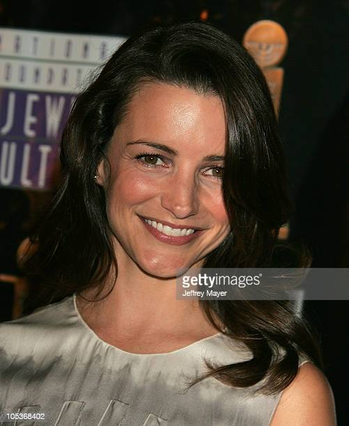 Kristin Davis during The 4th Annual Jewish Image Awards at Beverly Hilton Hotel in Beverly Hills California United States