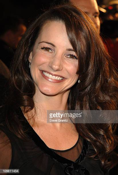 Kristin Davis during The Family Stone Los Angeles Premiere Arrivals at Mann Village Theater in Westwood California United States