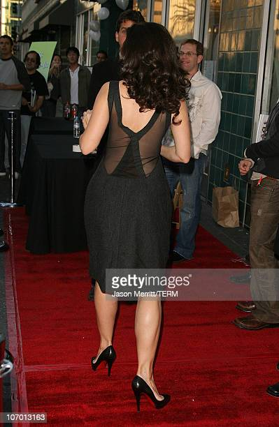 Kristin Davis during The Trevor Project's Cracked Xmas 9 Arrivals at The Wiltern LG in Hollywood California United States
