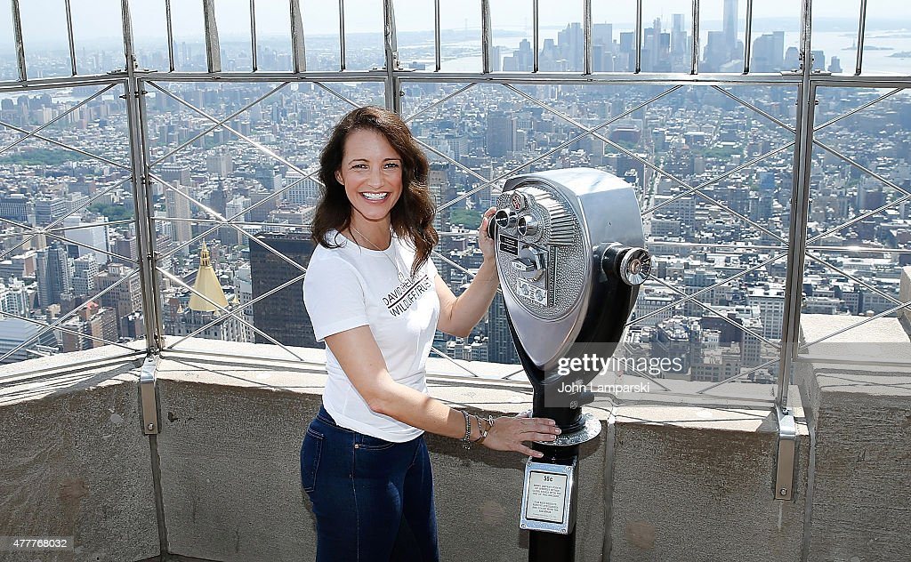 Kristin Davis Lights The Empire State Building To Raise Awareness About The Elephant Crisis