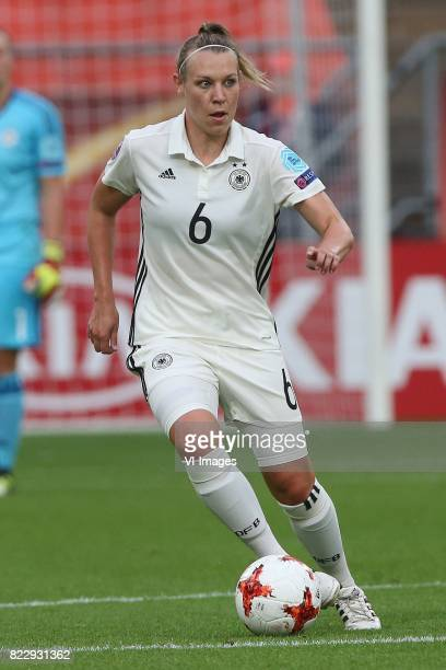 Kristin Demann of Germany women during the UEFA WEURO 2017 Group B group stage match between Russia and Germany at the Galgenwaard Stadium on July 25...