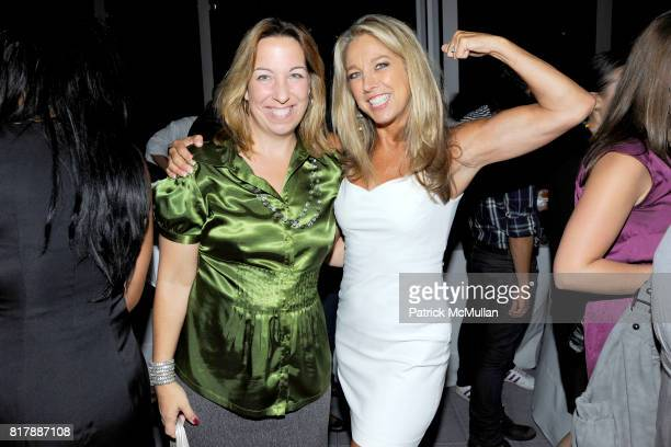 Kristin Difoglio and Denise Austin attend EVERYDAY HEALTH Anniversary Party at Gansevoort Park Avenue South on September 23 2010 in New York City