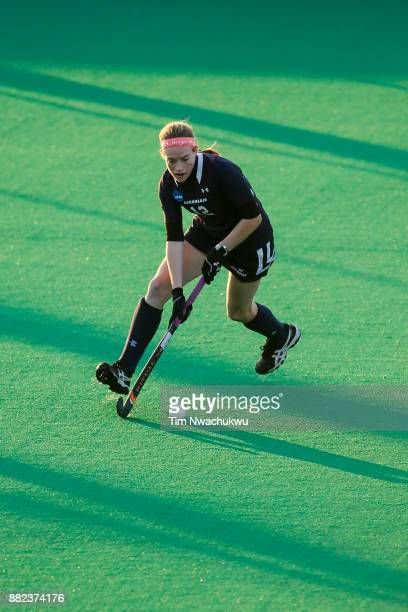Kristin Donohue of Messiah College during the Division III Women's Field Hockey Championship held at Trager Stadium on November 19 2017 in Louisville...