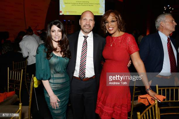 Kristin Gervasio Dr Craig Albanese and TV personality Gayle King attend NewYorkPresbyterian Hospital's Amazing Kids Amazing Care dinner at Cipriani...