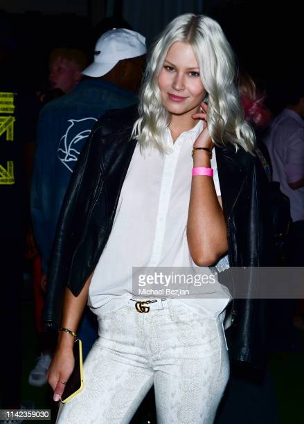 Kristin Hoppe at beGlammed Sunset Soiree Presented by Fullscreen on April 12 2019 in Palm Springs California