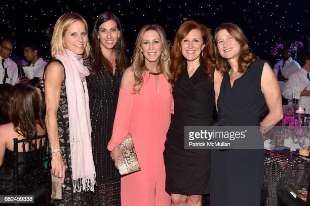 Kristin Johnson Lauren Newman Coleen Scanlan Karen Kovacs and Pamela Firestone attend the 2017 Hot Pink Party Super Nova presented by the Breast...