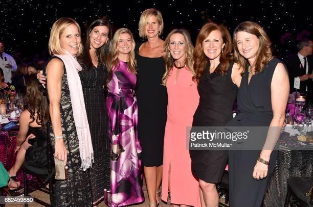 Kristin Johnson Lauren Newman Norell Zable Ann Gobel Coleen Scanlan Karen Kovacs and Pamela Firestone attend the 2017 Hot Pink Party 'Super Nova'...
