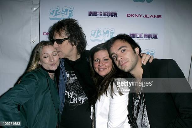 Kristin Kavanagh Mick Rock Michelle Ryan and Geoff Renaud