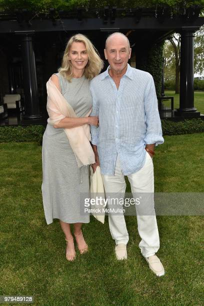 Kristin Kehrberg and Dick Tarlow attend The 18th Annual Midsummer Night Drinks Benefiting God's Love We Deliver at Private Residence on June 9 2018...