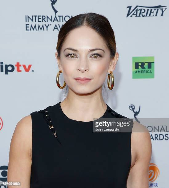 Kristin Kreuk attends 45th International Emmy Awards at New York Hilton on November 20 2017 in New York City