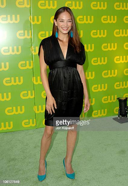 Kristin Kreuk during The CW Launch Party Arrivals at WB Main Lot in Burbank California United States