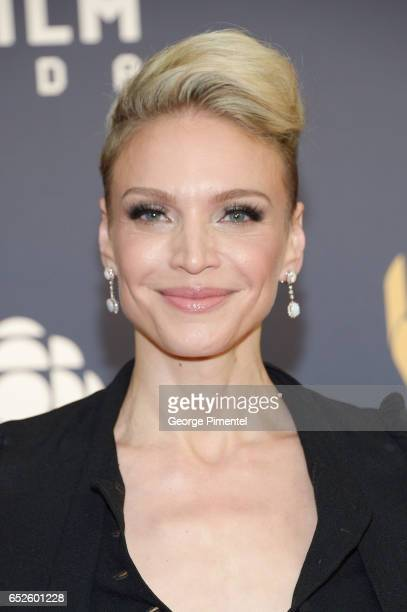 Kristin Lehman attends 2017 Canadian Screen Awardsat Sony Centre For Performing Arts on March 12 2017 in Toronto Canada