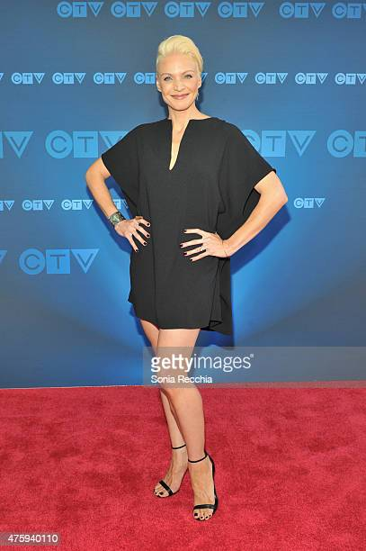 Kristin Lehman attends CTV Upfront 2015 Presentation at Sony Centre For Performing Arts on June 4 2015 in Toronto Canada