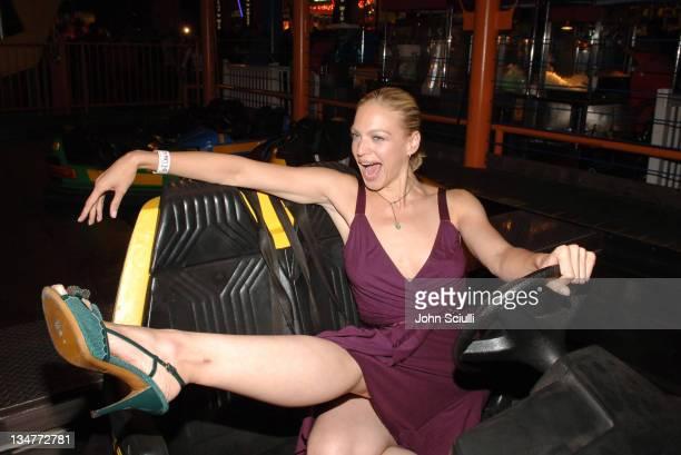 Kristin Lehman during FOX Summer 2005 AllStar Party After Party at Santa Monica Pier in Santa Monica California United States