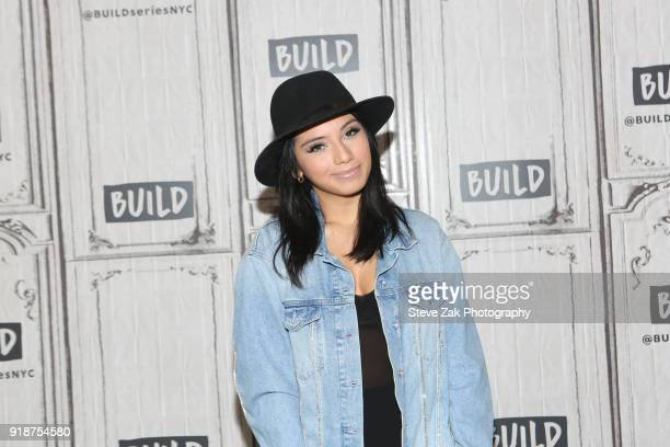Kristin Maldonado attends Build Series to discuss 'Kinky Boots' at Build Studio on February 15 2018 in New York City