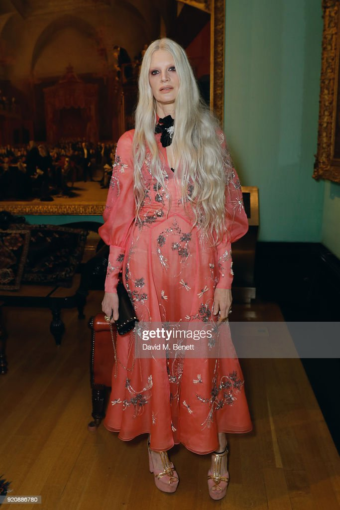 Nars x Erdem Dinner - VIP arrivals - LFW February 2018