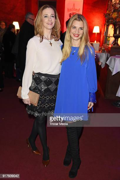Kristin Meyer and Susan Sideropoulos attend the Askania Award at Palazzo am Bahnhof Zoologischer Garten on February 13 2018 in Berlin Germany