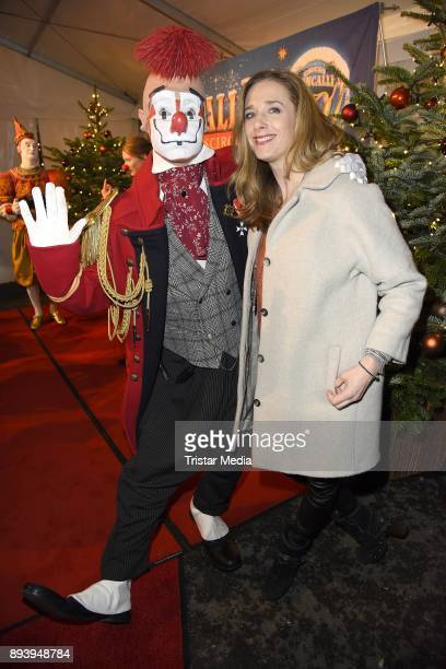 Kristin Meyer attends the 14th Roncalli Christmas Circus Premiere at Tempodrom on December 16 2017 in Berlin Germany
