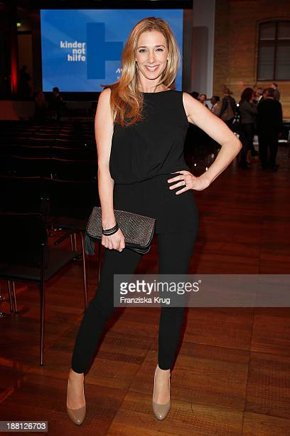 Kristin Meyer attends the 15th Media Award By Kindernothilfe at Hauptstadtrepraesentanz Deutsche Telekom AG on November 15 2013 in Berlin Germany