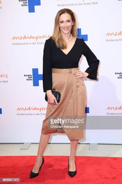 Kristin Meyer attends the 19th Media Award by Kindernothilfe on November 3 2017 in Berlin Germany