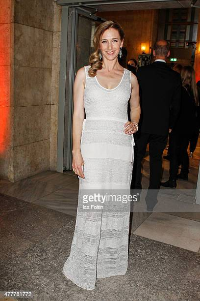 Kristin Meyer attends the German Film Award 2015 Lola at Messe Berlin on June 19 2015 in Berlin Germany