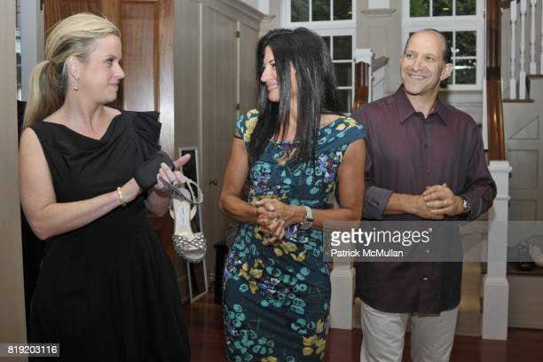 Kristin Pruett Allison Lutnick and Howard Lutnick attend Jimmy Choo and Allison Lutnick event supporting the Cantor Fitgerald Relief Fund at Bridge...