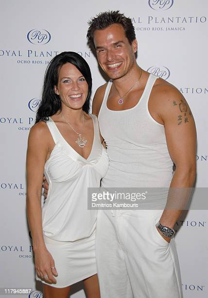 Kristin Rossetti and Antonio Sabato Jr during The 3rd Annual Royal Plantation and Access Hollywood Celebrity Golf Classic Day 1 at Royal Plantation...