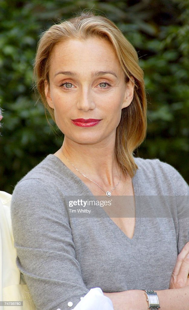 Kristin Scott Thomas at the The Playhouse in London, United Kingdom.