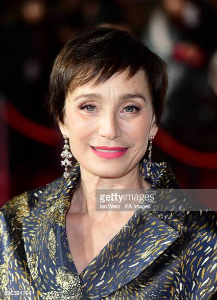 Kristin Scott Thomas attending the Darkest Hour Premiere held at the Odeon Leicester Square London